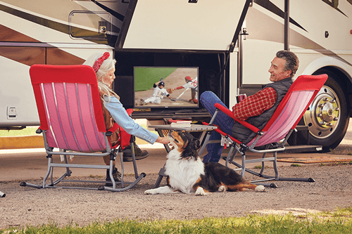 Watch DISH TV Outdoors in the RV- Slayton, Minnesota - Tom's Satellite Service Plus - DISH Authorized Retailer